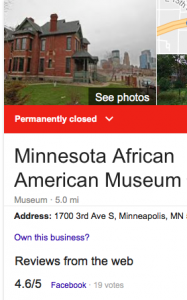 OMG, the Minnesota Black History Museum Building is for SALE!