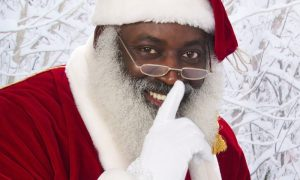 Santa Claus is Black; like Jesus!