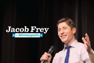 Mpls mayoral candidate Jacob Frey on Black Republican, Black Democrat – Saturday!